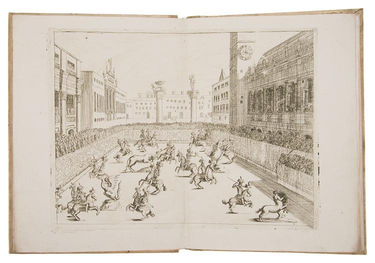 Fête.- Venice.- Patin (Charles) Le Pompose Feste di Vicenza, fatte nel mese di Giugno, del 1680, 1680.
