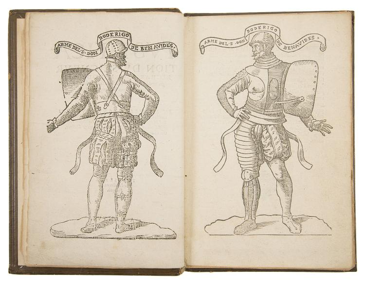 Duel.- Mérode (Richard de) La Justification du Seigneur Richard de Merode Seigneur de Frentzen, touchant sa querelle avecq le Seigneur Don Roderigue de Benavides, 1560.