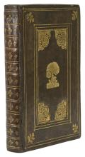 English Binding.- Clenardus (Nicolaus) Institutiones ac meditationes in Graecam linguam, Frankfurt, Heirs of Andreas Wechel, 1590-91.