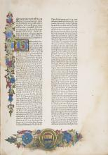 Incunabula.- Tortellius (Johannes) Orthographia, Rome, Ulrich Han and Simone Nicola Cardella, [after 10 August], 1471.