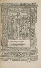 Book of Hours.- Les Presentes Heures a l'usage de Paris, Paris, par la Veufue de feu Thielman Kerver, 19th June, 1525.