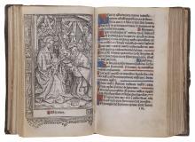 Printed on vellum.- Hore beate marie virginis secundum usum Parrhisien Totaliter ad longum, Jean Barbier, Paris, 1508.