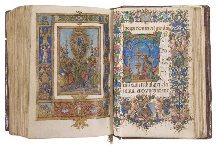 Book of Hours, use of Rome.- Illuminated manuscript on vellum, Florence, c.1470.