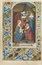 Book of Hours, use of Rouen, 110ff., 12 large miniatures, Rouen, c.1485-90.