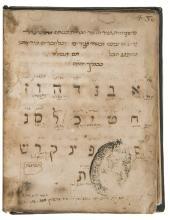 Kabbala.- Gikatilla (Yosef Ben Abraham) Two Kabbalistic Treatises, Italy, fifteenth century.
