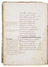Statius (Publius Papinius) Achilleide, Northern Italy, manuscript on paper, late 14th century.
