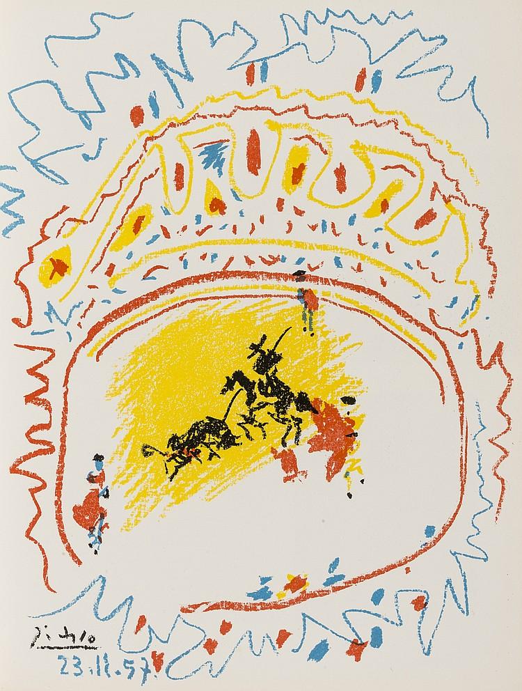 δ Pablo Picasso (1881-1973) La Petite Corrida (Bloch 839; Mourlot 302; Cramer Books 92)