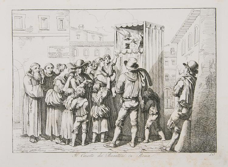 Italy.- Pinelli  (Bartolomeo) Nuova Raccolta di Cinquanti Costumi Pittoreschi, eng. title & 50 plates, Rome, 1816.