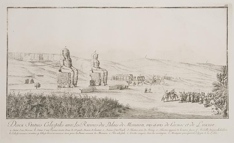 Egypt.- Norden (Frederick Lewis) Travels in Egypt and Nubia, 2 vol., large paper copy on thick paper, 1757.