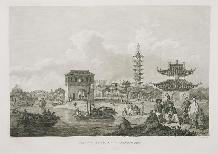 China.- Staunton (Sir George) An Authentic Account of An Embassy from the King of Great Britain to the Emperor of China, 3 vol. incl. Atlas, 1st edition, 1797.