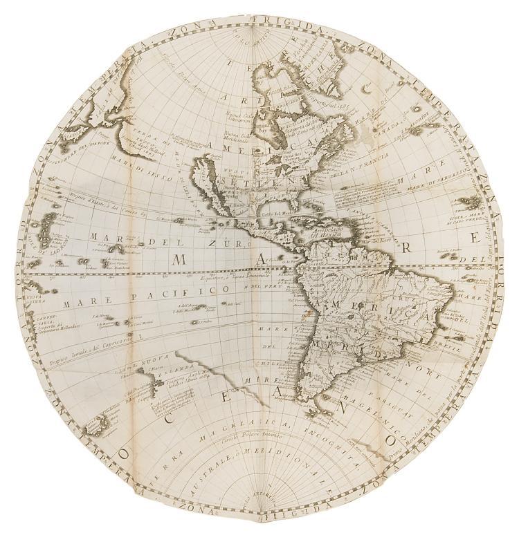 Atlases.- Coronelli (Vincenzo) Epitome Cosmografica, o Compendiosa Introuduttione all'Astronomia, Geografia, & Idrografia..., Cologne [Venice], 1693.