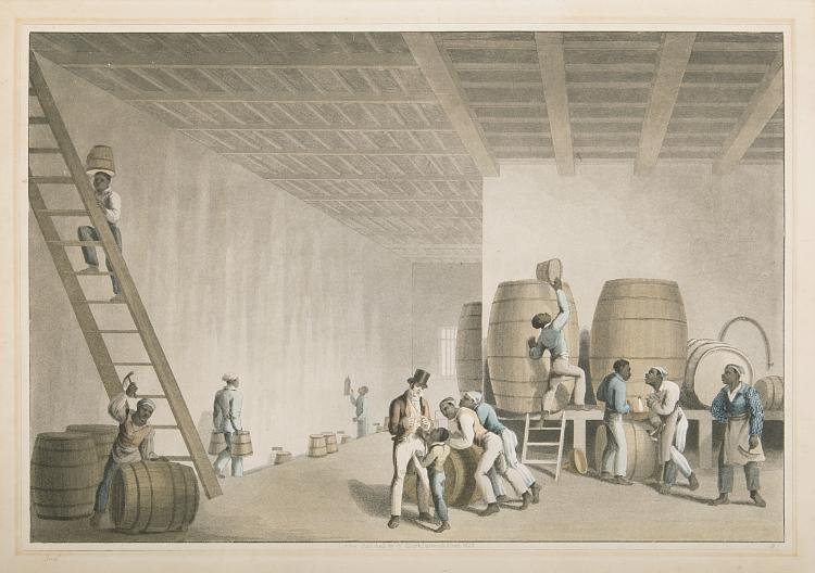 Americas.- Clark (William), [Ten Views in the Island of Antigua], 1823.