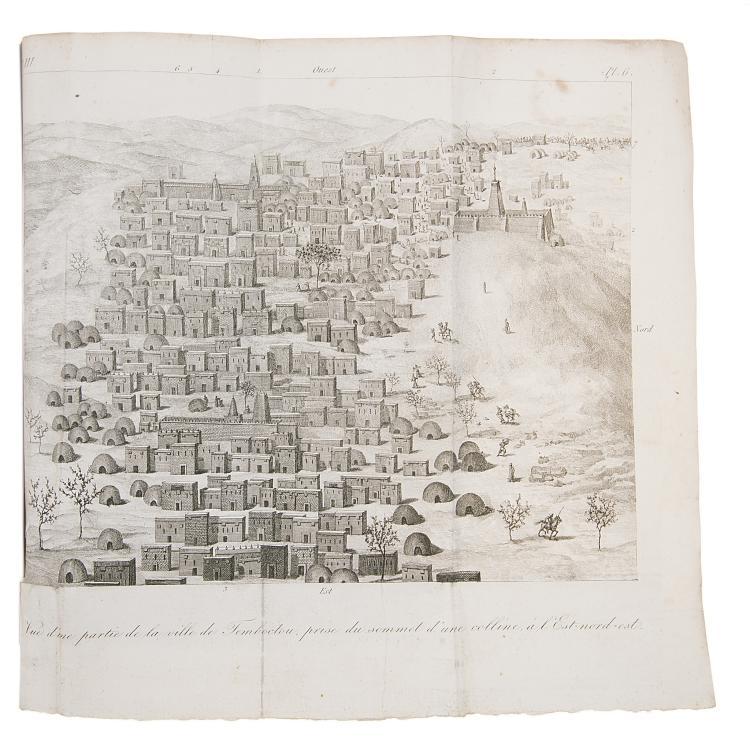 Africa.- Caillié (René) Journal d'un Voyage a Temboctou et a Jenné, Paris, 4 vol., 1830.