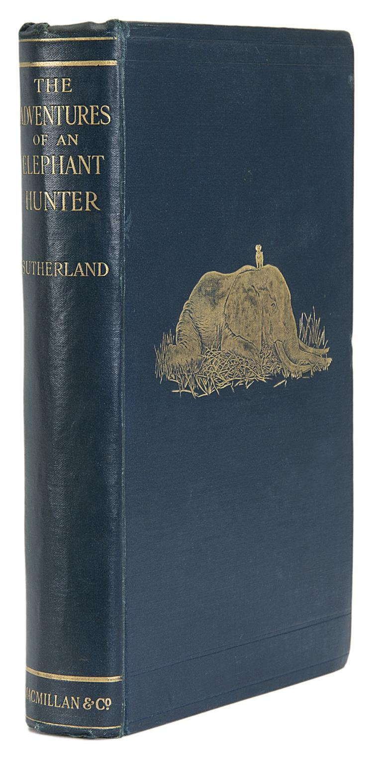 Africa.- Sutherland (James) The Adventures of an Elephant Hunter, 1st ed., orig. cloth, 1912.