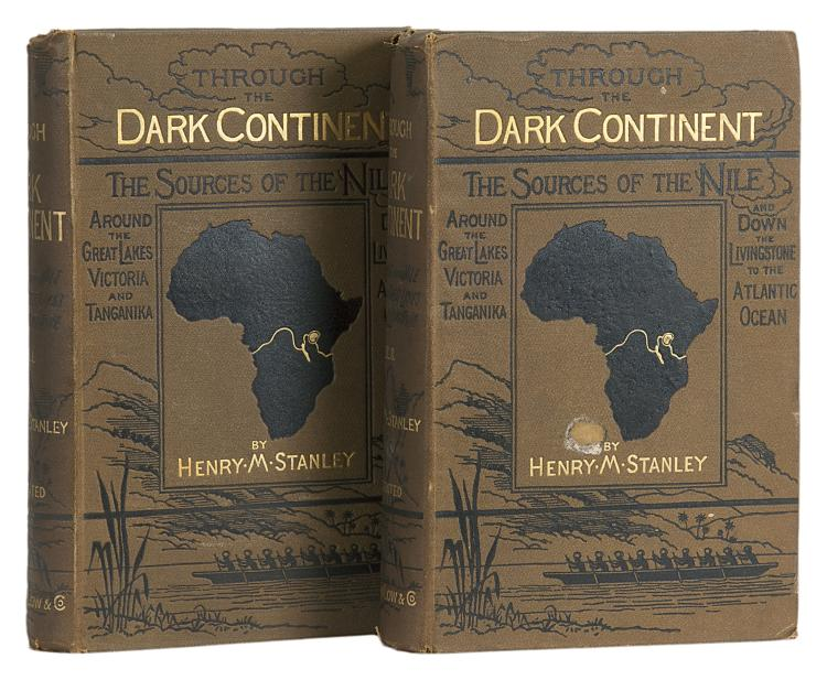 Africa.- Stanley (Henry Morton) Through the Dark Continent, 2 vol., first edition, 1878.