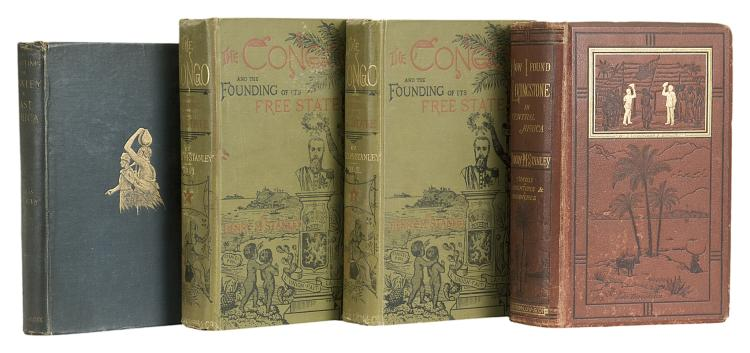 Africa.- Stanley (Henry Morton) How I Found Livingstone, first edition, 1872; and 5 others, Stanley (6)