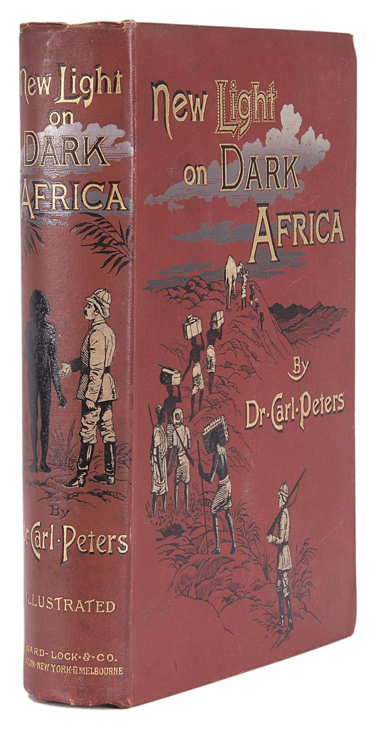 Africa.- Peters (Dr Carl) New Light on Dark Africa, 1st Eng. ed., orig. cloth, 1891.