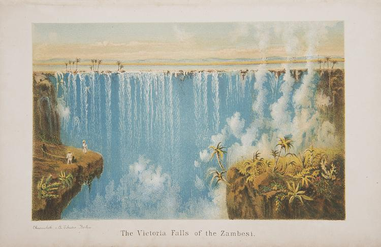 Africa.- Mohr (Edward) To the Victoria Falls of the Zambesi, 1st Eng. ed., orig. cloth, 1876.