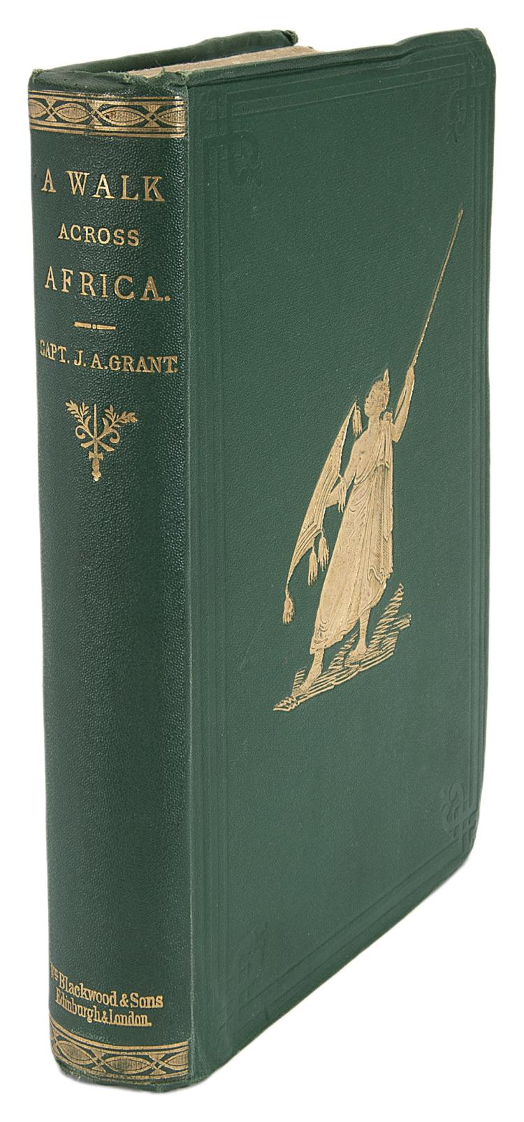 Africa.- Grant (James Augustus) A Walk Across Africa or Domestic Scenes from My Nile Journal, 1st ed., orig. cloth, Edinburgh & London, 1864.