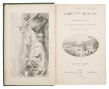 Africa.- Faulkner (Henry) Elephant Haunts: being A Sportsman's Narrative of the Search for Doctor Livingstone, 1st ed., cont. cloth, 1868.