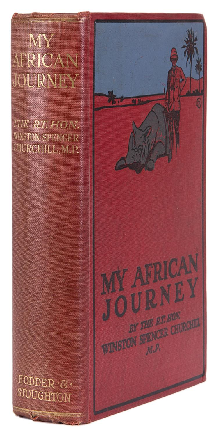 Africa.- Churchill (Winston Spencer) My African Journey, 1st ed., orig. cloth, 1908