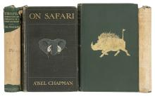 Africa.- Chapman (Abel) On Safari: Big-Game Hunting in British East Africa, 1908; and 3 others by Chapman (4)