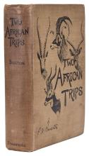Africa.- Buxton (Edward North) Two African Trips with Notes and Suggestions on Big Game Preservation in Africa, 1st ed., orig. cloth, 1902.