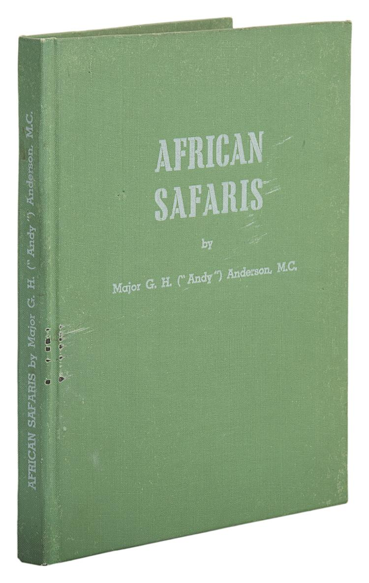 Africa.- Anderson (Major G.H.) African Safaris, 1946.