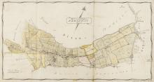 Somerset Estate Maps.- Map of the Parish of Broadway, manuscript map on vellum, [c. 1820s]; and 4 others, similar (5).