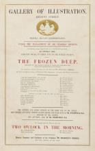 Dickens (Charles).- An Entirely New Romantic Drama, in Three Acts, by Mr. Wilkie Collins, called The Frozen Deep, 1857.