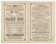 Dickens (Charles).- A New and Original Drama in Three Acts, by Wilkie Collins, Esq., entitled the Frozen Deep, 1866; and 5 others, Dickens (6)