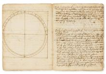 Dialling.- Martindale (Adam) The description of a plaine instrument, manuscript, [c. 1670].