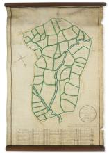 Kent.- A Plan of Bradbourn Farm in the Parishes of Sevenoaks and Otford Kent, 1702.