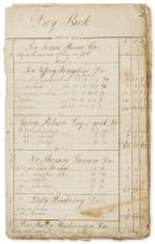 Mathematics.- Hutton (Charles) Day Book [for The Schoolmaster's Guide], manuscript, [c. 1764].