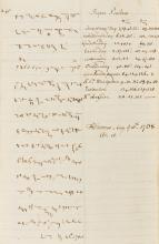 Winchester College.- Stevens (Thomas Horton, student at Winchester College) The Order of Morning and Evening Prayer, autograph manuscript in shorthand, 1768.