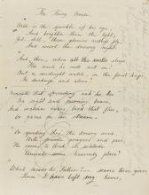 Unpublished Poetry.- The Fairy Bride [&] Otto and his Wife, a Bavarian Legend and other Poems, manuscript, [c. 1850].