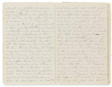 Italy (Bellagio, Florence, Naples and Rome).- ?Hearn (W.) Diary of a tour to Italy, autograph manuscript, 1879-80.