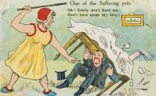 Suffragette Postcards.- 49 humorous assorted colour comic postcards, 1908-14; and c. 30 others (c. 79).