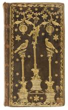 Scottish Binding.- Bible, English. The Holy Bible, Containing the Old and New Testaments, bound in contemporary brown polished calf decorated with the figure of a Chinese spearman, by ?James Scott of Edinburgh, 1778.