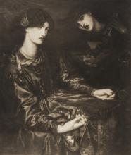 Pre-Raphaelites.- A group of 11 works after drawings and paintings, platinum prints, by Frederick Hollyer (1837-1933), [circa 1890].