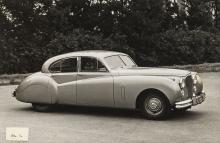 Industrial Espionage.- Jaguar Mk. VII, file of photographs and detailed information compiled for senior Rolls Royce executives, 1953.