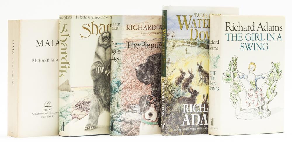 Adams (Richard) Shardik, first edition, 1974; and 4 others, Adams (5)
