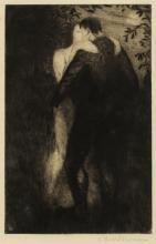 Christopher Richard Wynne Nevinson (1889-1946) Lovers (Black 62)