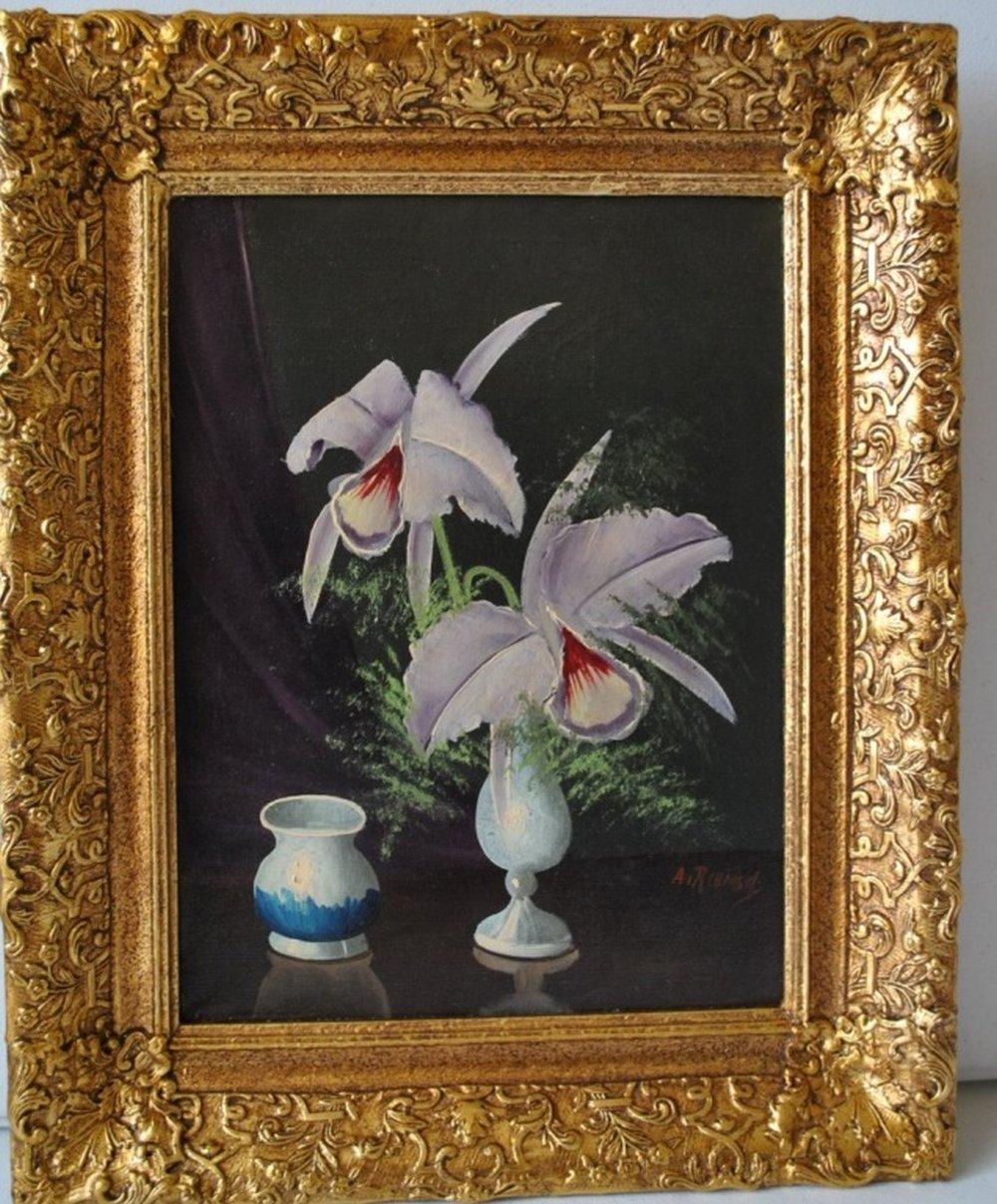 Still Pictures Are All Very Fine And >> Very Fine Original Oil Still Life