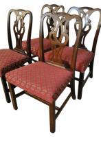 4 Vintage Baker Dining Chairs