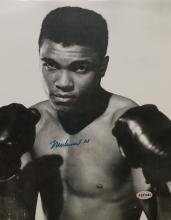 Signed Young Ali Photograph