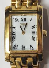 GC-39 Citizen Eco-Drive Women's Gold Colour Watch