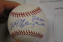 John Rocker 49 Signed Baseball