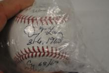 Denny McLain Signed WS Baseball