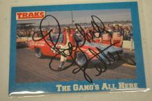 Signed Richard Petty Nascar Card